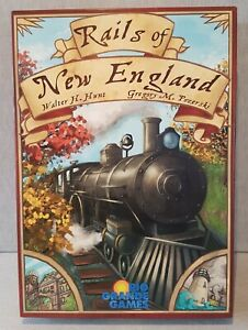 Rails of New England Board Game ☆ Rio Grande Games ☆ 2011 ☆ UNPLAYED VGC