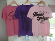 3 Men's T shirts Small- Great condition