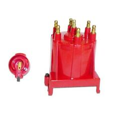 Taylor Distributor Cap and Rotor Kit 918133; HEI (Male) Red for Chevy 4.3L V6