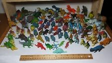 Dinosaur Toy LOT Variety Vintage & Modern Small Size Action Figures Toys