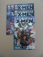 The First X-Men 1 - 5 . Lot Complet . Neal  Adams .  Marvel 2012 / 13 . VF