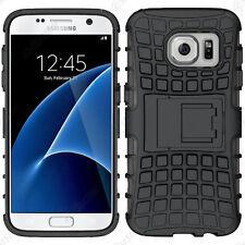 Coque Housse Etui Anti Choc Armor Outdoor Bequille Noir Samsung Galaxy S7 G930F