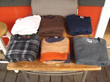 6 Saddle Bred, Gildan XXLT, XXL Heavy Cotton Sweaters Excellent 100% Cotton