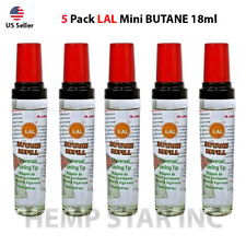 5 Pack Winlite Lal Butane Refill 18 ml fuel fluid for Lighters and all Torch's