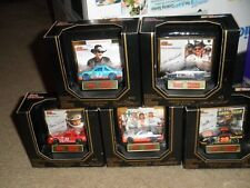 SET OF 5 FIRST PRODUCTION RACING CHAMPIONS PREMIER ED. 1/64 EARNHARDT PETTY DW +
