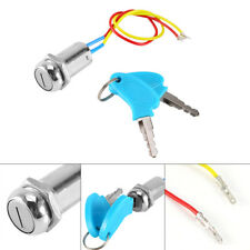 Ignition Key Switch Lock Electric 2 Wires Keys For ATV Dirt Scooter Kart Bike DY