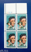 Sc # 2090 ~ Plate # Block ~ 20 cent Performing Arts Issue, John McCormack (bf12)