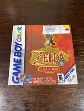 Brand New Legend of Zelda: Oracle of Seasons Nintendo Game Boy Color SEALED GBC