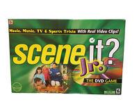 Scene It Jr Dvd Board Game By Mattel 2004 Edition New Sealed 27084105636 Ebay