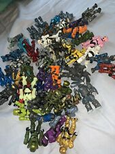 halo mega bloks lot. 10 Figures With 5 Weapons