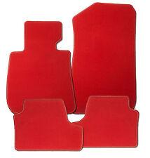 Für Alfa 33 Bj. ab 6.1983 Auto-Fußmatten 4-teilig in Velours Deluxe rot