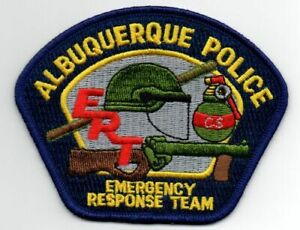 NEW MEXICO NM ALBUQUERQUE POLICE EMERGENCY RESPONSE TEAM NEW PATCH SHERIFF