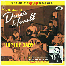 "DENNIS HERROLD - THE MYSTERY OF - COMPLETE IMPERIAL RECS (Rockabilly 10"" LP + CD"