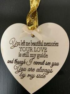 You left me Beautiful Memories on Heart