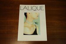 Lalique Univers 99 Catalog Handbags Purses Jewelry Art de Vivre Art Glass