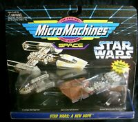 VINTAGE STAR WARS MICRO MACHINES SPACE GALOOB 1994 65860 STARFIGHTER NEW HOPE