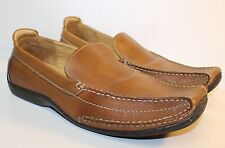 ASTON GREY Sport MEN SHOES Brown LEATHER SZ 12 LOAFERS DRIVING Slip ons