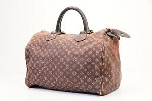 Auth Pre-owned Louis Vuitton Monogram Mini Lin Speedy 30 Hand Bag M95224 210342