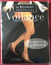 Le Bourget Voilance Shiny Tights Pantyhose Fouine Size T4 Large