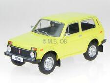 Lada Niva 1976 dark yellow Ostalgie modelcar 18001 MCG 1:18