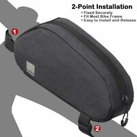 Bike Frame Bag Bicycle Top Tube Pack Cycling Accessories Pouch Cell Phone Holder