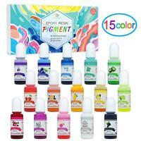Coloranti  per Resina Epossidica 15 Colori Pigmento  Resina Epossidica Liquido
