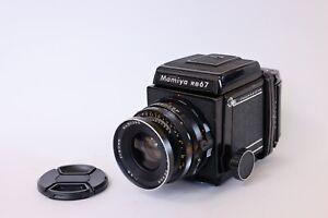 Mamiya RB67 Professional Film Camera w/ Sekor 90mm f/3.8 Lens READ! NEW SEALS!