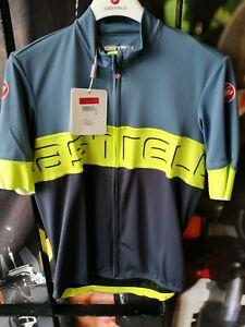 Castelli Prologo IV Short Sleeve Summer Jersey - Large