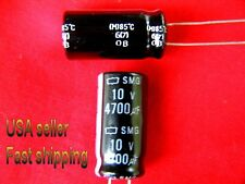 12 pcs  -  4700uf  10v  85c   electrolytic capacitors