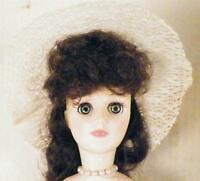 Effanbee Doll Pride of the South Brunette Southern Belle Blue Gown in Box