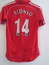 Liverpool 2006-2008 Hogar Camiseta De Fútbol Alonso Tamaño Pequeño/41378