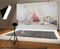 Baby Pink Baby Show Vinyl8x6Ft Photography Studio Props Backdrop Show