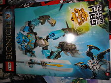 LEGO  BIONICLE   PAIR OF POSTERS  - 2014 NYCC