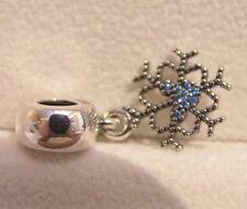 S925 Silver Disney Mickey Snowflake Charm Bead NEW  Box Option Bracelet