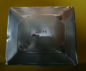 Silver Cigarette Box Birmingham 1934