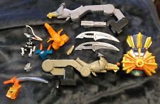 Mighty Morphin Power Rangers Lot of 14 Pieces ASSORTED MEGAZORD MMPR