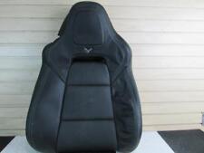 2016 Chevrolet Corvette Z06 Factory Passenger leather seat back cover  84106262