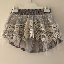 Paper wings Lace Detail Skirt Size 7 As New