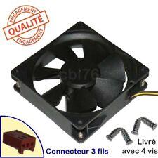 Ventilateur Sunon Ref: KD1209PTS2 92x92x25 3 fils 12V 1,7W