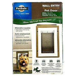 New PetSafe Wall Entry Aluminum Pet Door - Small Dog or Cat 1-15 lbs