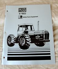 White Farm Equipment 4-150 Field Boss Tractor Dealer Demonstrator Book-ca 1973!