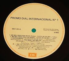 Dial N°1 BRAZIL PROMO LP 1992 EMI Queen We will rock you (studio & live)
