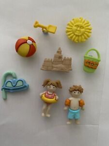 Day At The Beach Seaside Vacation Holiday Summer Seaside Swimming Children Craft