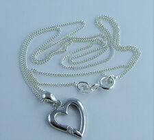 Markenlose Runde Echte Edelstein-Halsketten & -Anhänger mit Zirkon für Damen