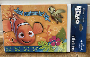 Finding Nemo THANK YOU NOTES Birthday Party Supplies