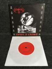 "Ex-Inferiis – Ngul A Crist 7"" Nuclear War Now! Productions Thrash Death Metal"
