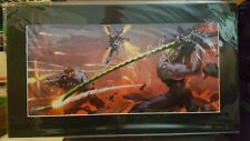 "SDCC 2019 - Blizzard ""Blade and Barrage"" Fine Art Print by Arnold Tsang #178/250"