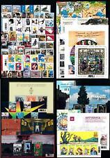 Belgium 2008 Complete Year Set incl.  12 souv. Sheets / 2 carnets MNH