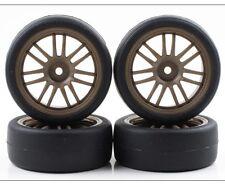 Kyosho R246-4123 BS Potenza Hg & RE30 Tires Bronze Rims (4pieces) Fazer Rally