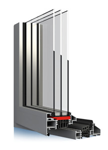 Alu, Aluminium Fenster, Aluprof Ferroline, Preis/Leistung/Lieferzeit - Top
